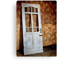 A Door Unhinged Canvas Print