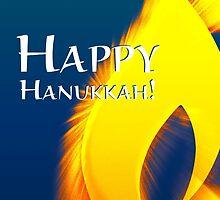 happy hanukkah light by maydaze
