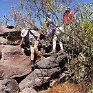 The magic of Arnhem Land - descending a 3 metre cliff by georgieboy98