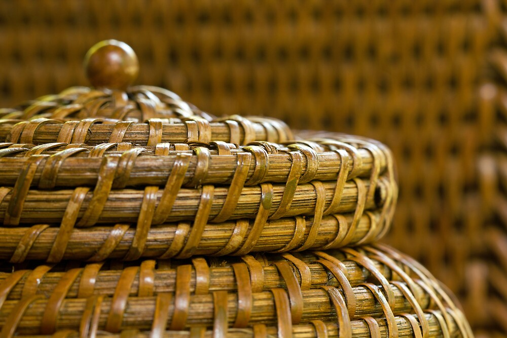 Woven Basket by Lynn Gedeon