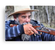 Tony The Muzzle Loader - Hill End NSW Australia Canvas Print