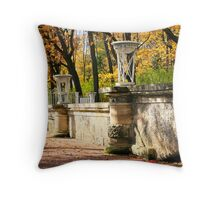 The Catherine Park, Pushkin  Tsarskoe Selo , Saint-Petersburg, Russia Throw Pillow
