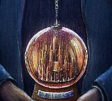Doctor Who Gallifrey Snow Globe  by illustore