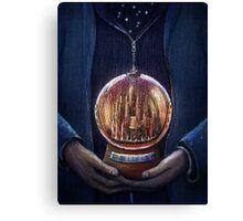 Doctor Who Gallifrey Snow Globe  Canvas Print