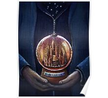 Doctor Who Gallifrey Snow Globe  Poster