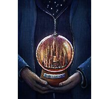 Doctor Who Gallifrey Snow Globe  Photographic Print