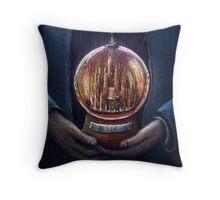 Doctor Who Gallifrey Snow Globe  Throw Pillow