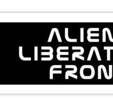 Alien Liberation Front Sticker