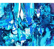Blue Overtone Photographic Print