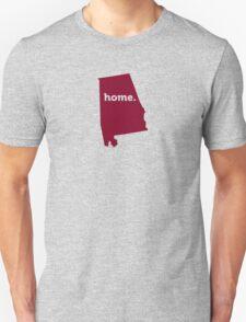 Alabama HOME GARNET T-Shirt