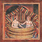 Couple Bathing by wonder-webb