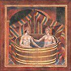 Couple Bathing by wonder-webb