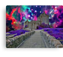 Space Castle Canvas Print