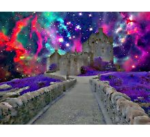 Space Castle Photographic Print