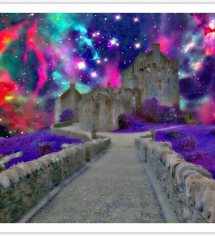 Space Castle Sticker