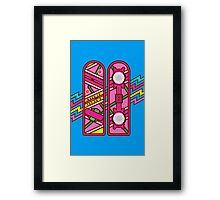 Back to the 80's Framed Print