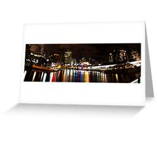 Docklands Warf Greeting Card