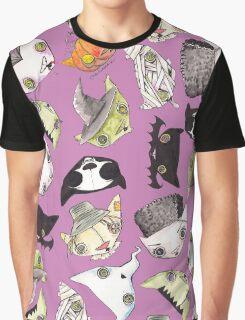 """""""Oro?"""" Halloween Purple Graphic T-Shirt"""