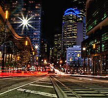 Collins Street by Beau Williams