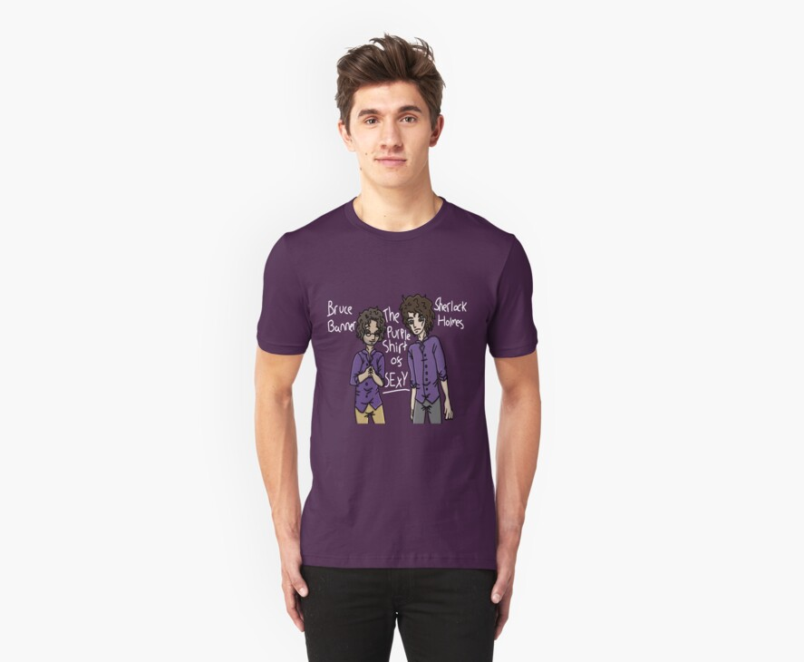 Purple shirt of sexy.  by IronGeth