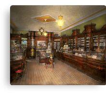 Pharmacy - Weller's Pharmacy 1915 Canvas Print