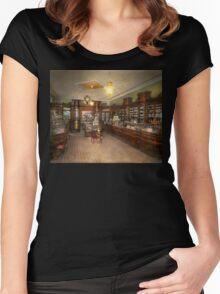 Pharmacy - Weller's Pharmacy 1915 Women's Fitted Scoop T-Shirt