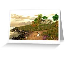 Paradise lost and found Greeting Card