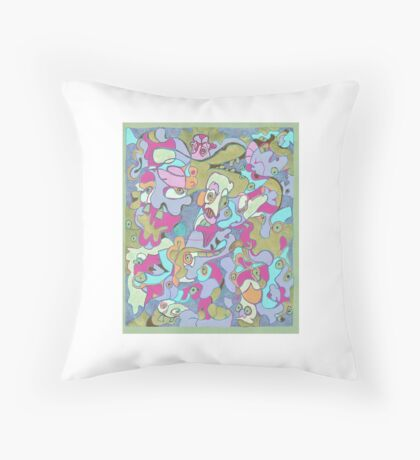 Funky Friday 2.0 Throw Pillow