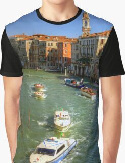 Light Traffic on the Grand Canal Graphic T-Shirt