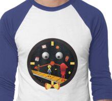 Don't Hug Me I'm On Time Men's Baseball ¾ T-Shirt