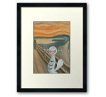 Wooper's Scream Framed Print