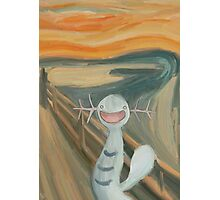 Wooper's Scream Photographic Print