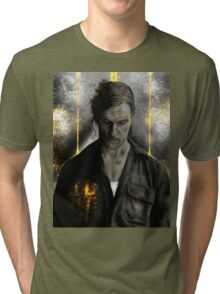 True Detective - Rust Cohle old  Tri-blend T-Shirt