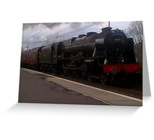 The Great Britain V Tour Steam Train Greeting Card