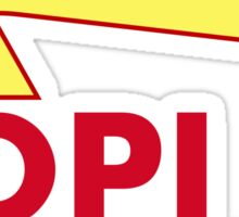 ADPi In and Out Sticker