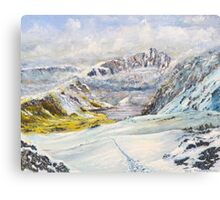 Winter on Cader Idris Canvas Print