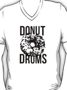 DonutDrums Donut Black T-Shirt