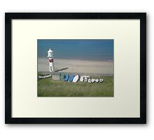 The Cosy Bay Framed Print