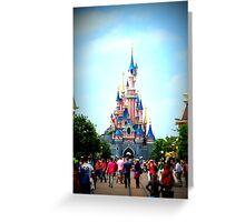 Disneyland Castle Greeting Card