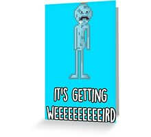 Mr. Meeseeks Greeting Card