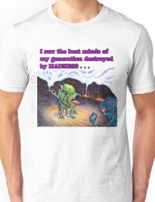 Beatnik Cthulhu Unisex T-Shirt