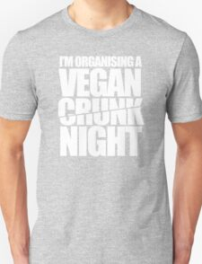 Vegan Crunk Night T-Shirt