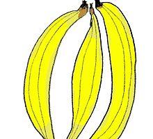 Bananas by margaretafriden