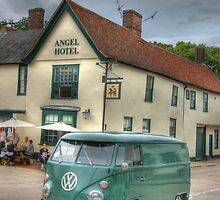 The Angel and the VW Camper by TeresaMiddleton