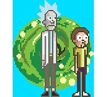 Rick & Morty Photographic Print
