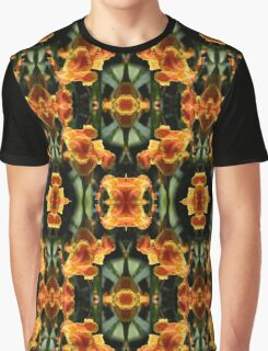 Reflections on a Canna Lily Graphic T-Shirt