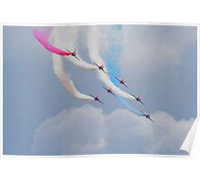 On The Curve - The Red Arrows Poster