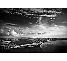 View over Exmoor Photographic Print