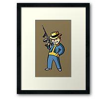 Fallout Gunner Framed Print