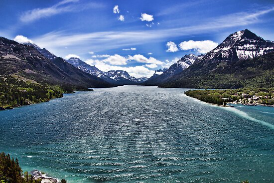Waterton National Park by Angela E.L. Clements